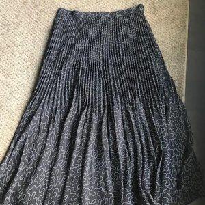 Long midi pleated skirt from Club Monaco